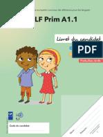 Livret Du Candidat Delf Prim a1.1 Exemple 2