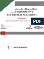 Les attentes des Marseillais pour les municipales 2020