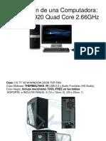Caracteristicas de Intel Core i7