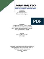 Actividad 8 de Epidemiología - Cuadro Comparativo Estudios Epidemiológicos