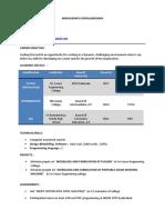 Design engineer sample resume