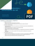 1.3 Protocolos y Comunicación de Red