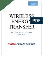 Investegatory Project Physics TESLA COIL