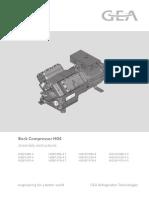 Bock Compressor HGX6- 1410-4S