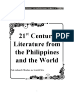 21st Century Literature of the Philippines and of the World (1)