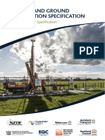 NZ Ground Investigation Specification Vol 1