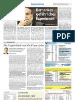 PS Inequality als Gastkommentar in den Salzburger Nachrichten (SN)