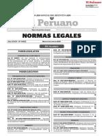 Normas Legales (2019). Normas legales del Diario Oficial El Peruano. Lima.