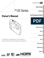 Fujifilm Finepix XP120 Owner's Manual