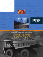 Standard Operating Procedure on Coal Loss Accounting