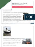 Schrottabholservice - Wohnwagenentsorgung