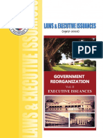 LAWS & EXECUTIVE ISSUANCES (1900-2014)