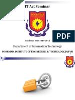 IT Seminar Act