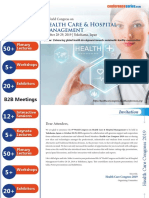 HealthCareCongress 2019 Brochure