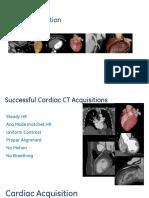 Cardiac CT Acquisition Modes