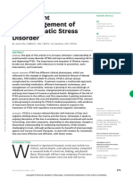 Assessment and Management of Posttraumatic Stress.14