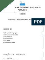 Português Aula 03 Apresentação I