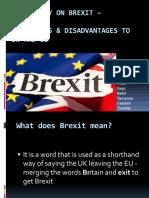 Case Study on Brexit –