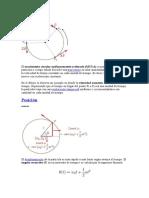 El movimiento circular uniformemente acelerado