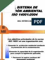 El sistema de gestión ambiental ISO 14001