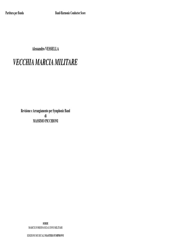 SCARICA EDIZIONE MUSICALE BANDA MARCIA