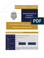 Implementación de Proyectos Comunitarios (2)
