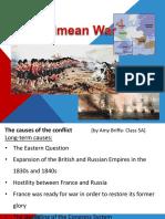The Crimean War Presentation