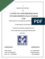 Shopping Malls - Report