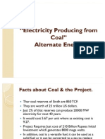 Electricity Producing From Coal