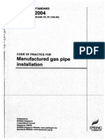 CP 51 - 2004 Manufactured Gas Pipe Installation