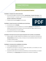 Posibilidades y Limitaciones de las TIC