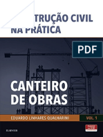 Resumo Canteiro Obras Volume 1 Colecao Construcao Civil Pratica d62a