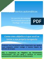 Psicoeducação RPD