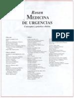 Rosen Medicina de Urgencias Español