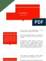 A política.pptx