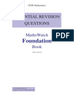 Essential Questions Foundation - No Answers