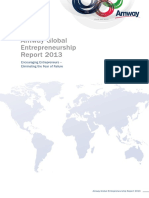 2013 Amway Global Entrepreneurship Report 18