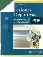 Lesiones Deportivas Diagnostico Tratamiento y Rehabilitacion-panam-Bahr Maehlum.