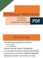 1 Estímulo y Respuesta