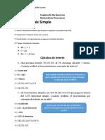Ejercicios Matemáticas Financieras - Beto (1)
