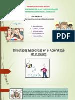 Dificultades Especificas en El Aprendizaje de La Lectura 1