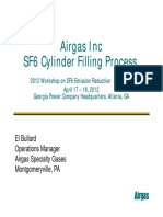 Airgas SF6 Bottle Filling Procedure