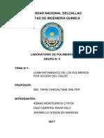 Informe 1 polimeros