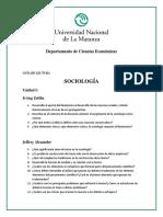 Guía de Lectura Unlam (Sociologia)