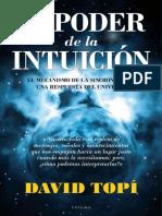 El Poder de La Intuición El Mecanismo de La Sincronicidad_ Una Respuesta Del Universo- David Topí