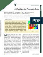 Potential of multijunction cells