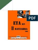 ETAren II Batzarra 1963