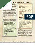 Forgotten Realms Conversion Guide _ GM Binder