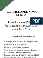 Daianu Drumul Spre Euro Printed
