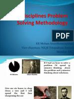 Problem Solving Techniques – 8D NIQR Trivandrum by KR Mohan Ananthanarayanan